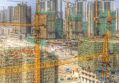 Urbanisierung auf dem Vormarsch