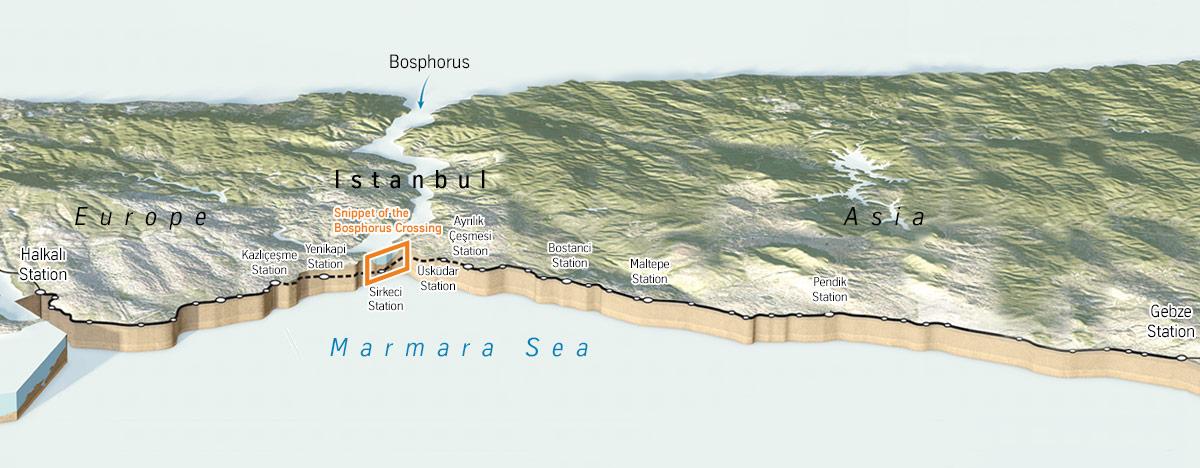 Das Projekt Marmaray erfordert eine intelligente Transportinfrastruktur