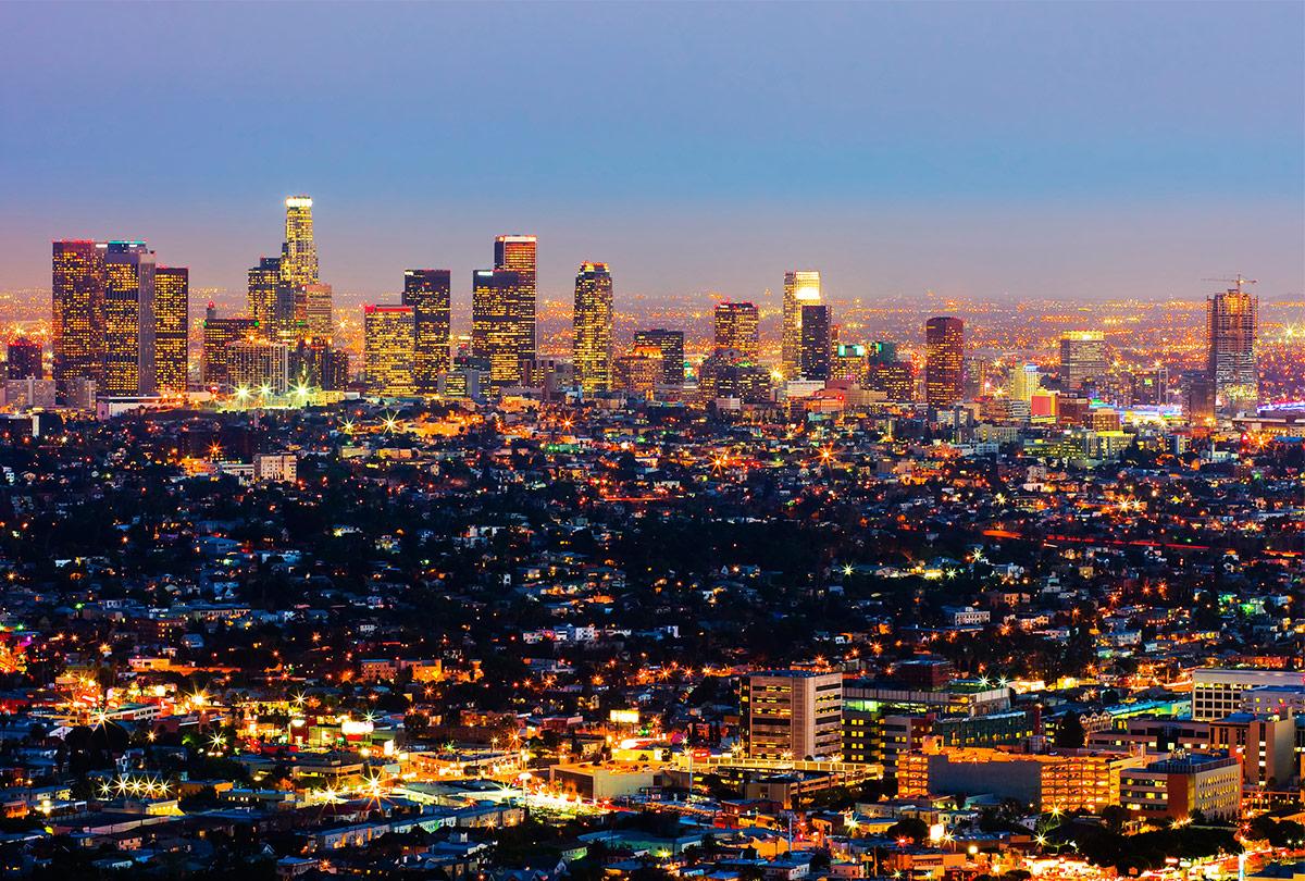 Los Angeles lighting