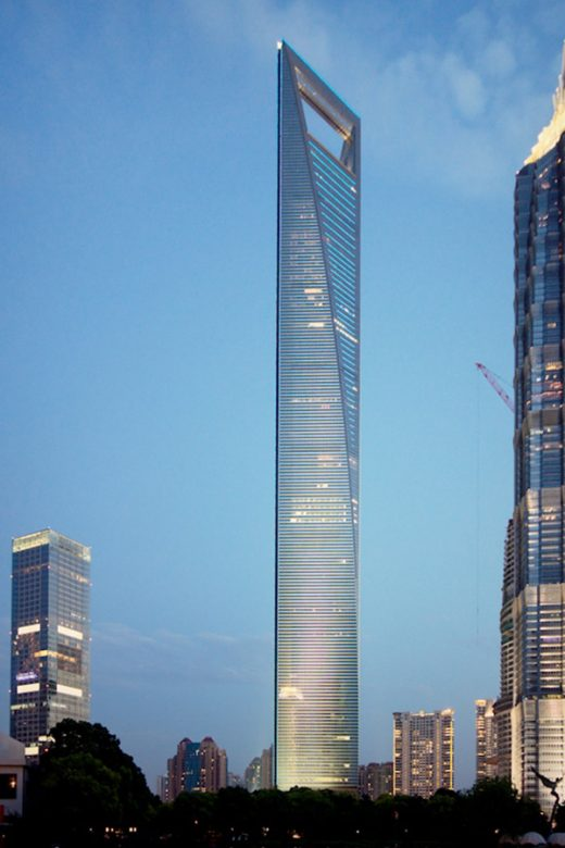 World Financial Center in Shanghai – an energy efficient building