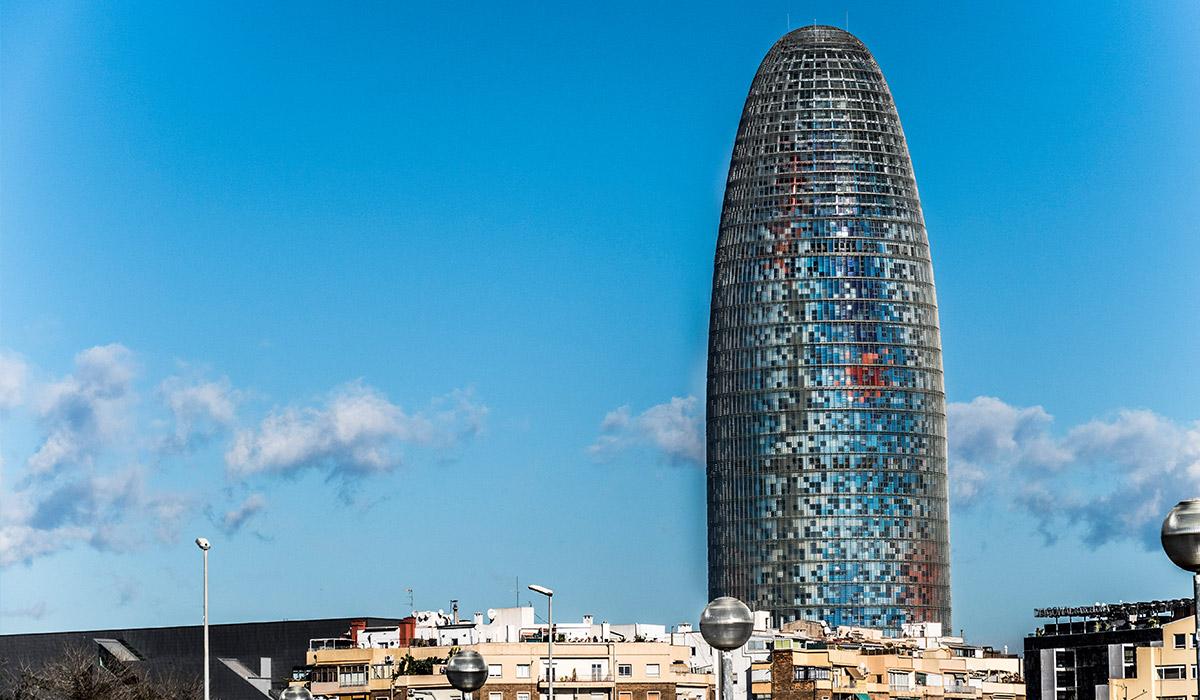 Der Torre Agbar, Barcelona