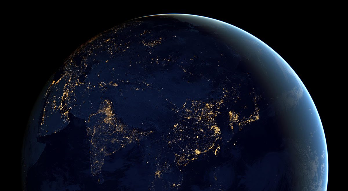 The world from space
