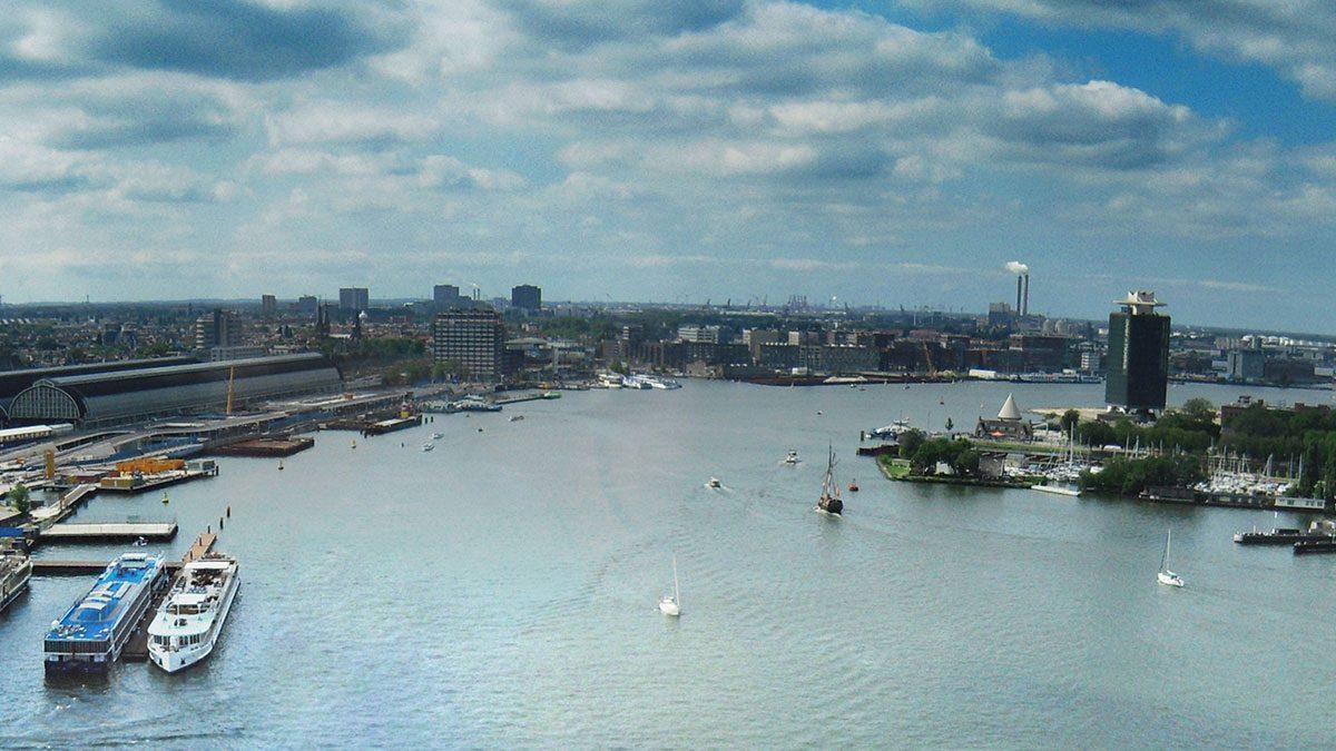 Panorama von Amsterdam