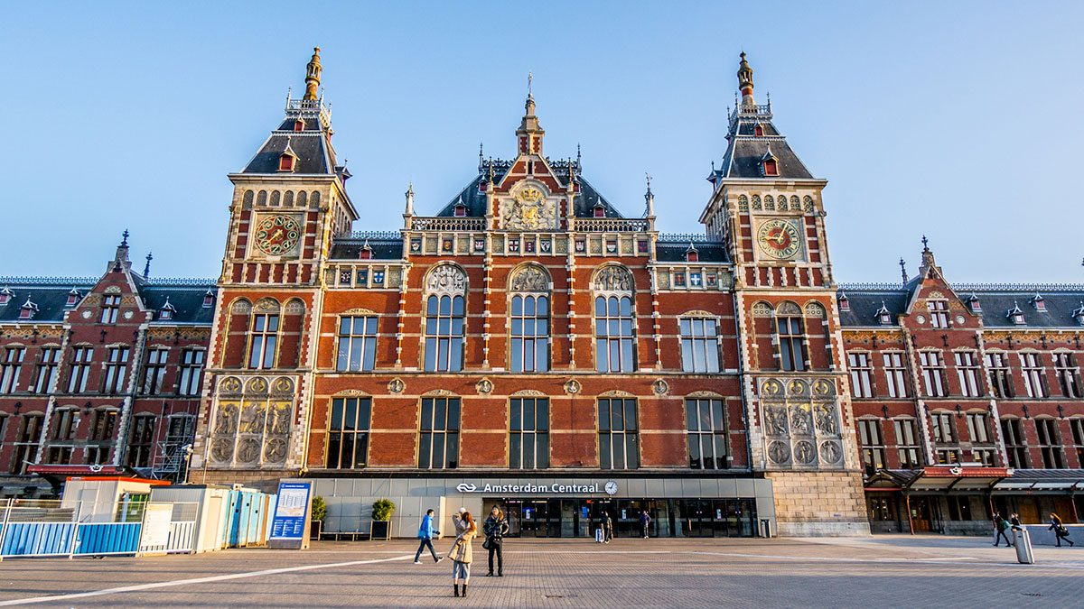 Amsterdam's Centraal Station