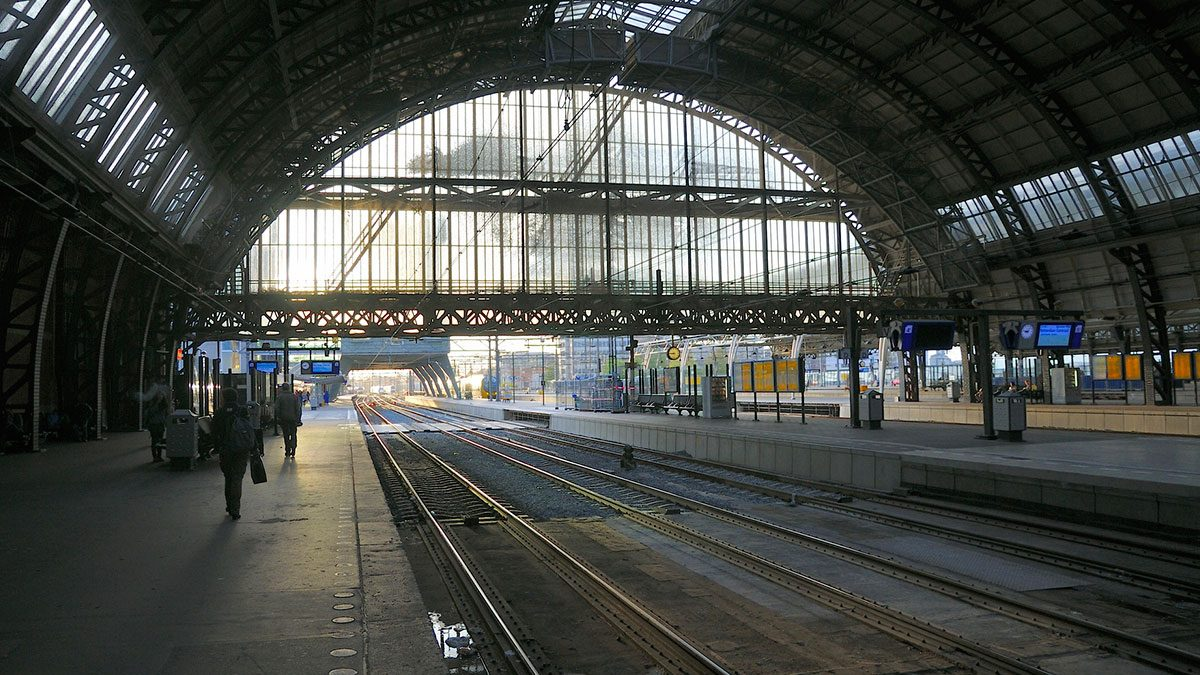 The central station from inside