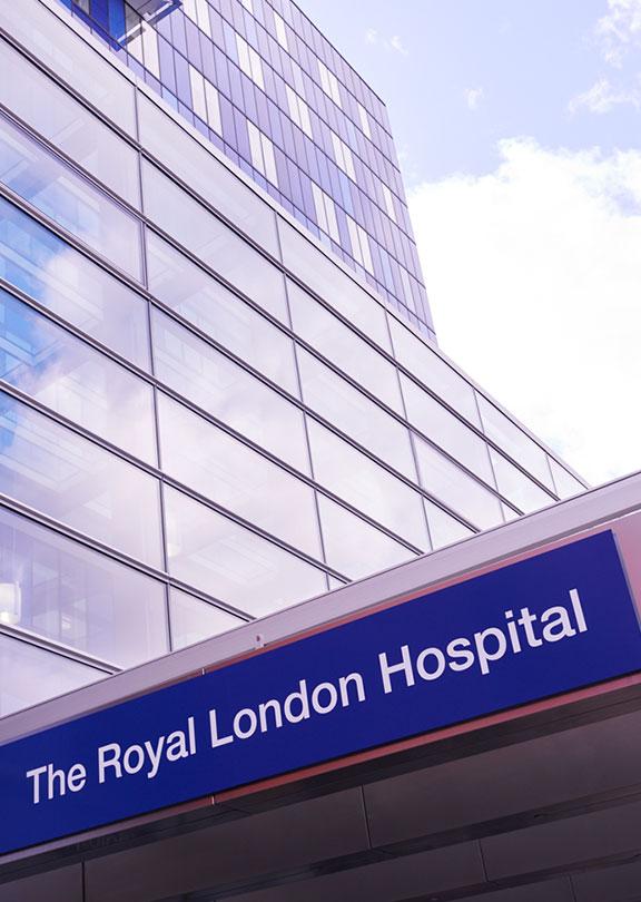 Das Royal London Hospital