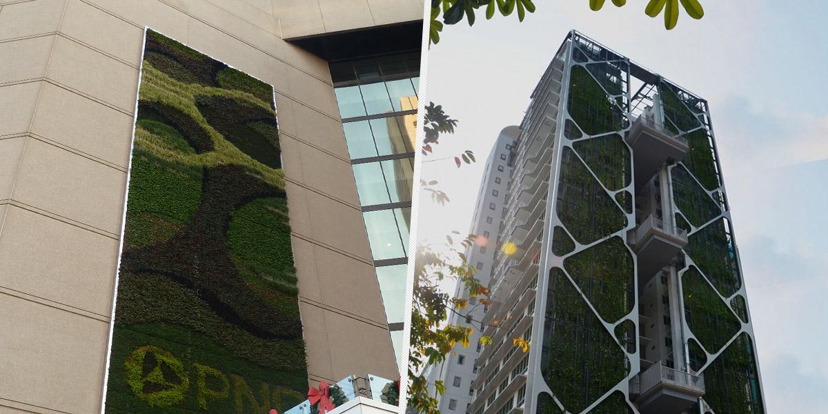 Baltimore: publicidade cultivada / Cingapura: o maior jardim vertical do mundo economiza custos
