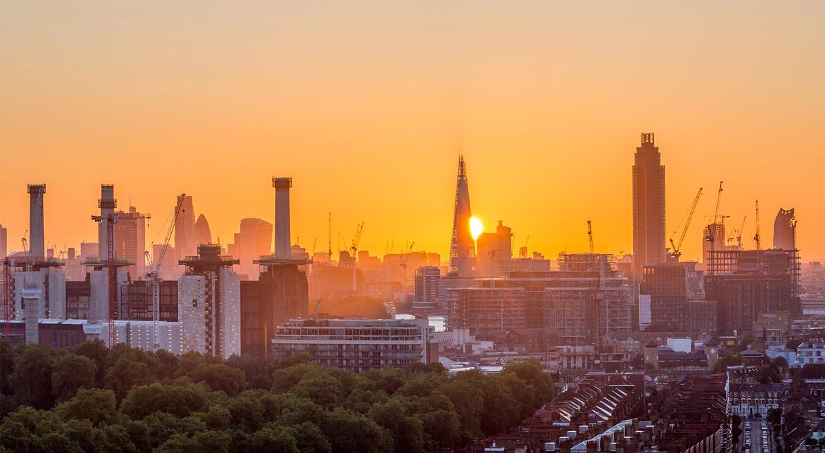 Die Battersea Power Station in London