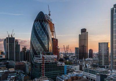 Über Londons Dächern