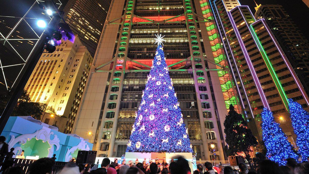Boas Festas de Hong Kong!