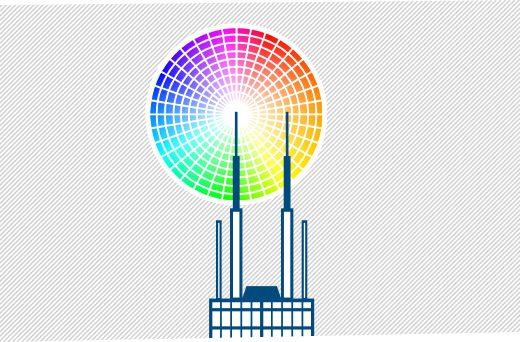Beautiful and necessary: antenna lights on Willis Tower