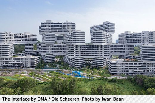 The Interlace by Büro Ole Scheeren
