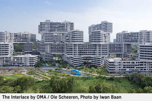 The Interlace in Singapur von Büro Ole Scheeren