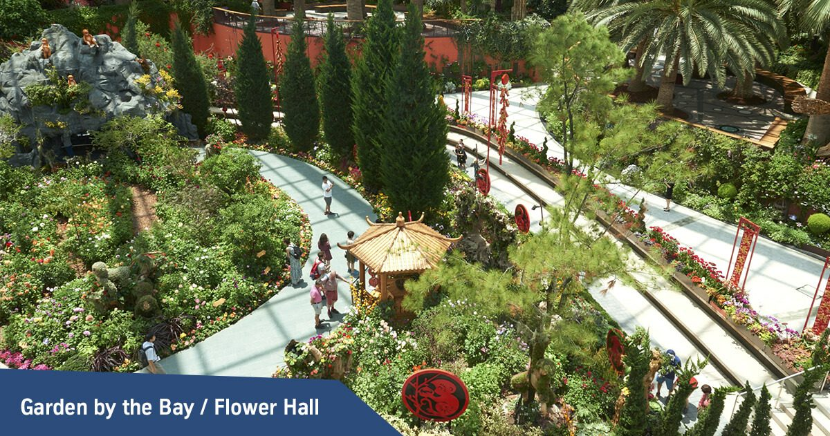 Flower Hall / Garden by the Bays
