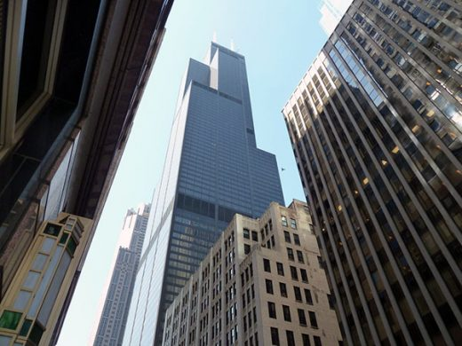 Der Willis Tower (früher Sears Tower)