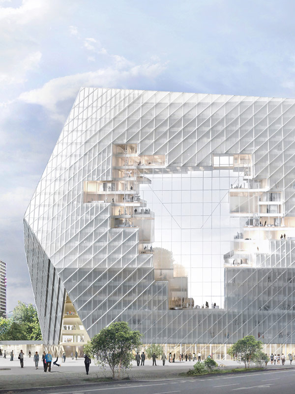 Axel Springer Cloud by Ole Scheeren © Buro-OS