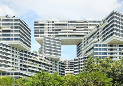 The Interlace – design inspirador