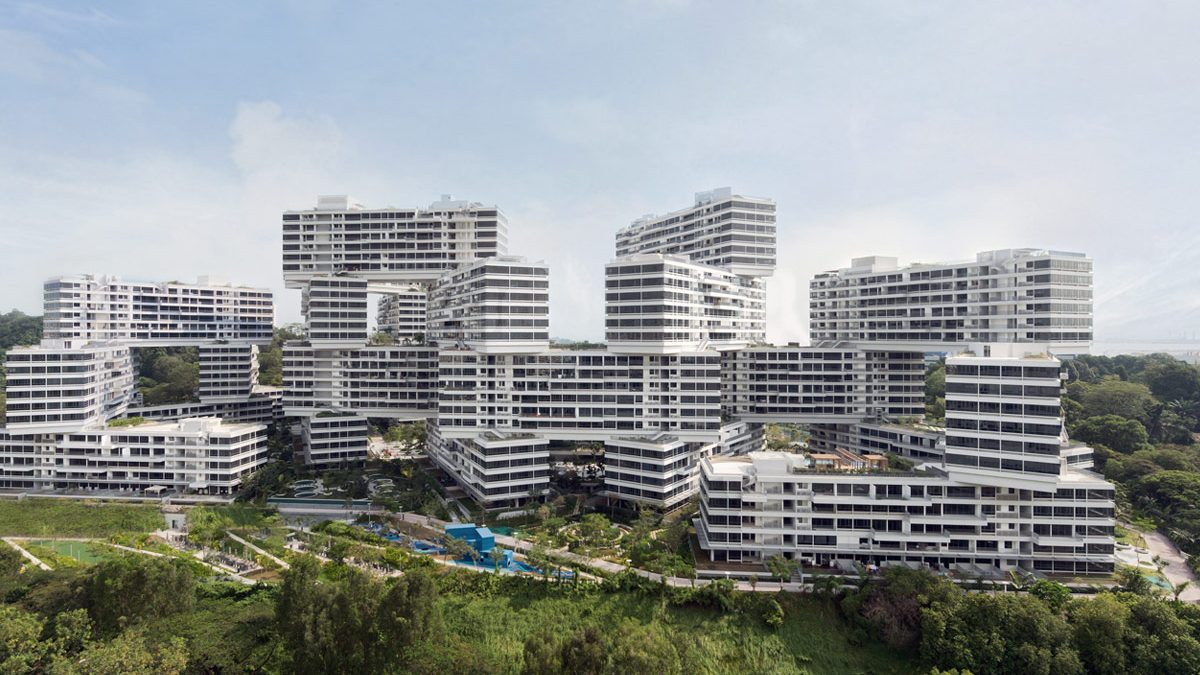 The Interlace, Photo by Iwan Baan