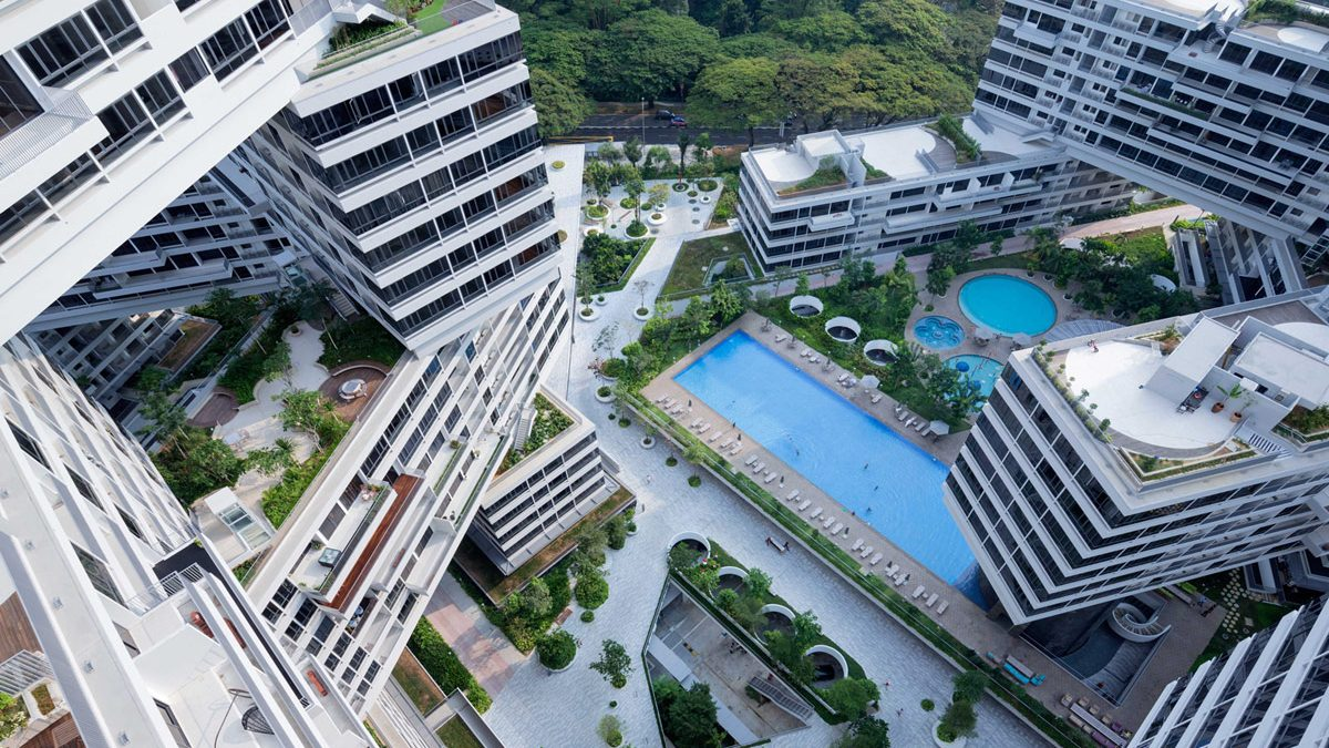 The Interlace by OMA/Ole Scheeren, Photos by Iwan Baan