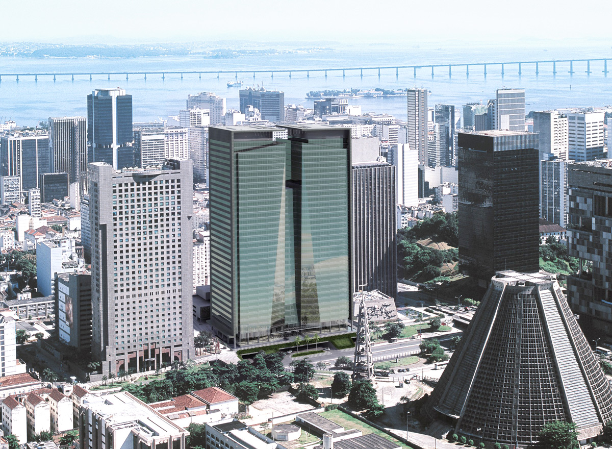 Ventura Corporate Towers, Rio, certified LEED Gold in 2009 & 2011