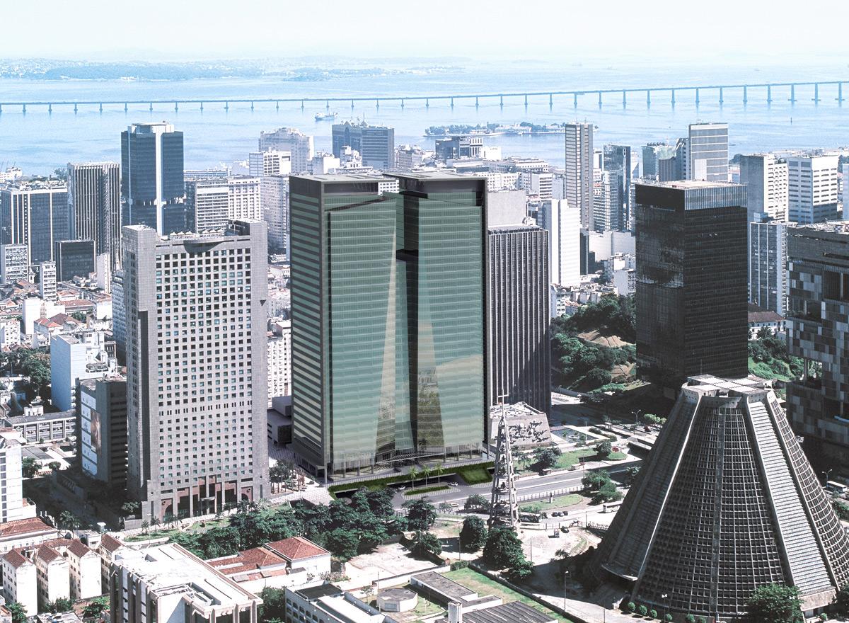 Ventura Corporate Towers, Rio, LEED-Gold-Zertifizierung 2009 und 2011