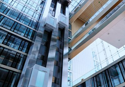 Elevators, buildings, and US-urbanization