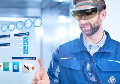 Virtuell gestützte Wartung von Aufzügen