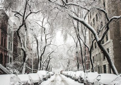 How snowy cities cope