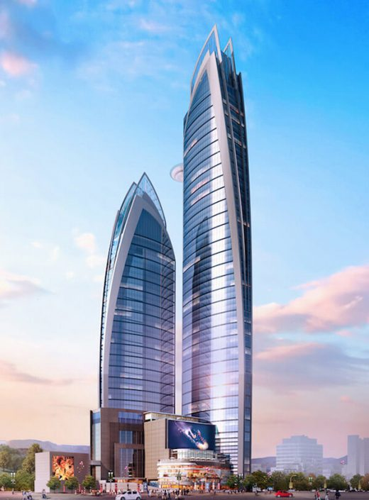 Les Pinnacle Towers de Nairobi s'inscrivent dans une vague de mode