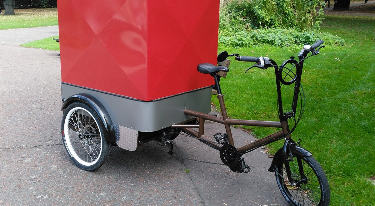 Chariot trike for deliveries