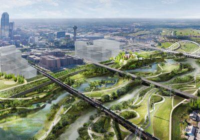 Parque natural transforma Dallas