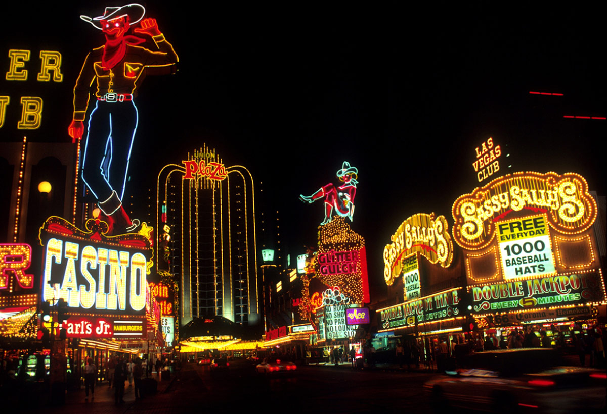 Vegas is now turning heads for more than its lights
