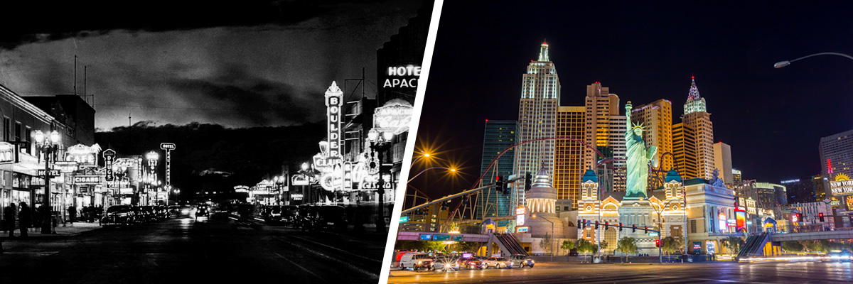 Las Vegas has come a long way from a gambling outpost to a smart, tech-savvy city.