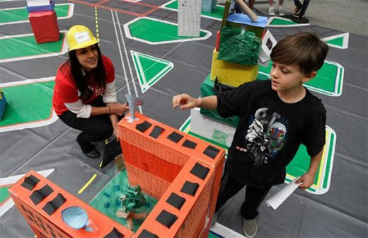 At Box City events, kids share insights with architects.