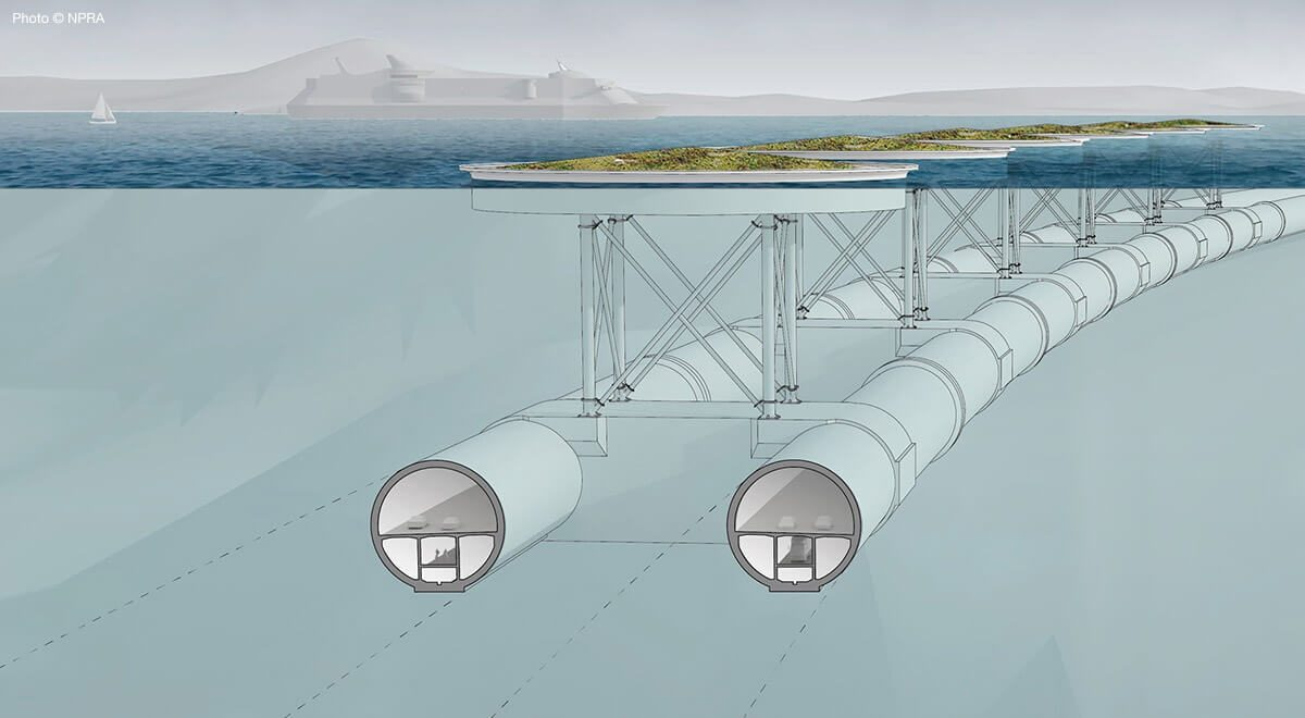 "More from the fjords: Norway plans an underwater ""bridge""."
