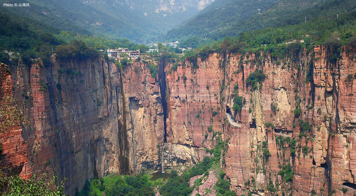 Long, scenic, scary: China's Guoliang Tunnel Road has it all.