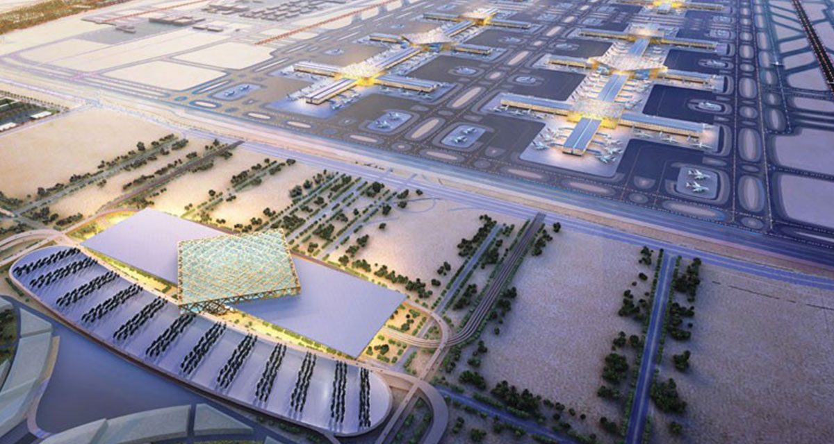 Mexico City's new airport honors national tradition.