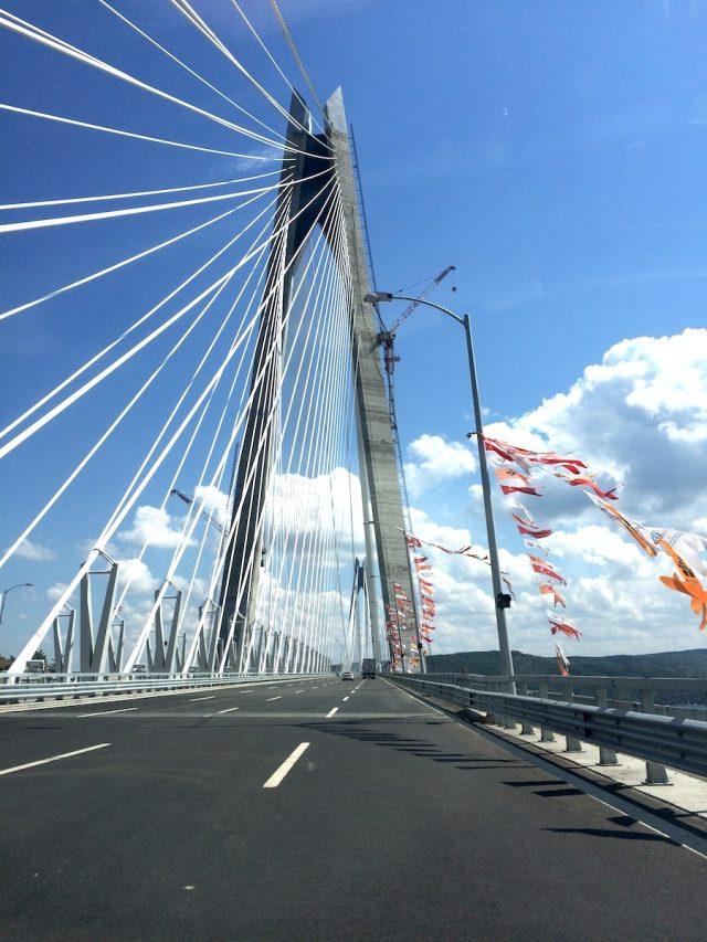 The Yavuz Sultan Selim Bridge: the world's tallest suspension bridge in Istanbul.