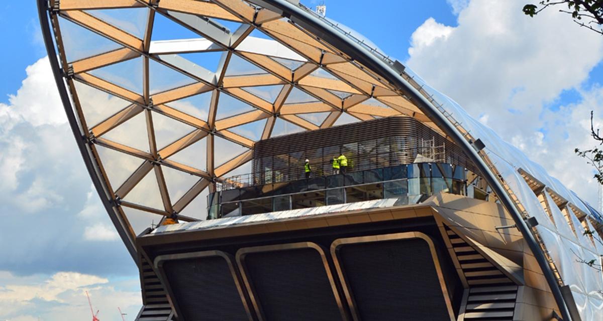 London Crossrail site