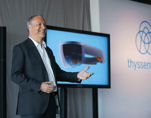Andreas Schierenbeck, CEO, thyssenkrupp Elevator AG