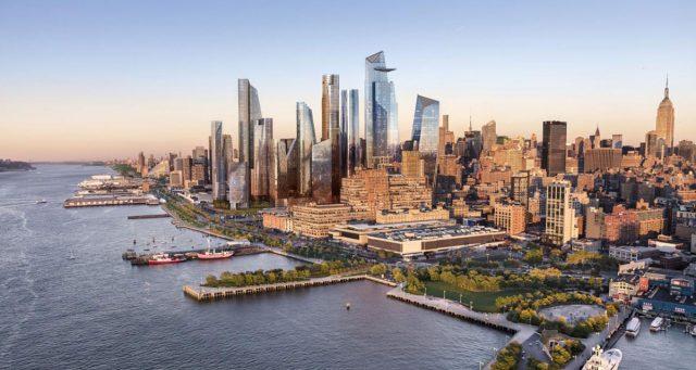 Hudson Yards Redevelopment Project, New York