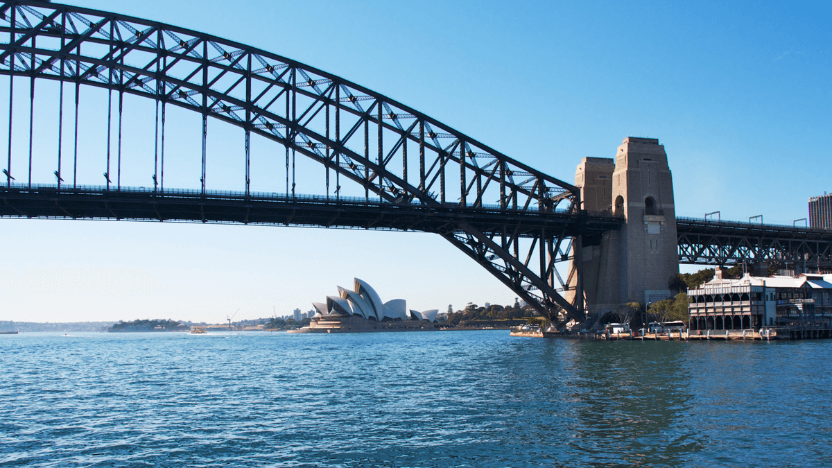 Harbour Bridge, Sydney (Australien)