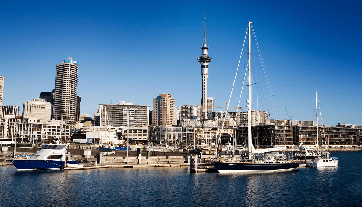 新西兰奥克兰的天空塔