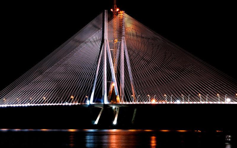 India Mumbai Bridge