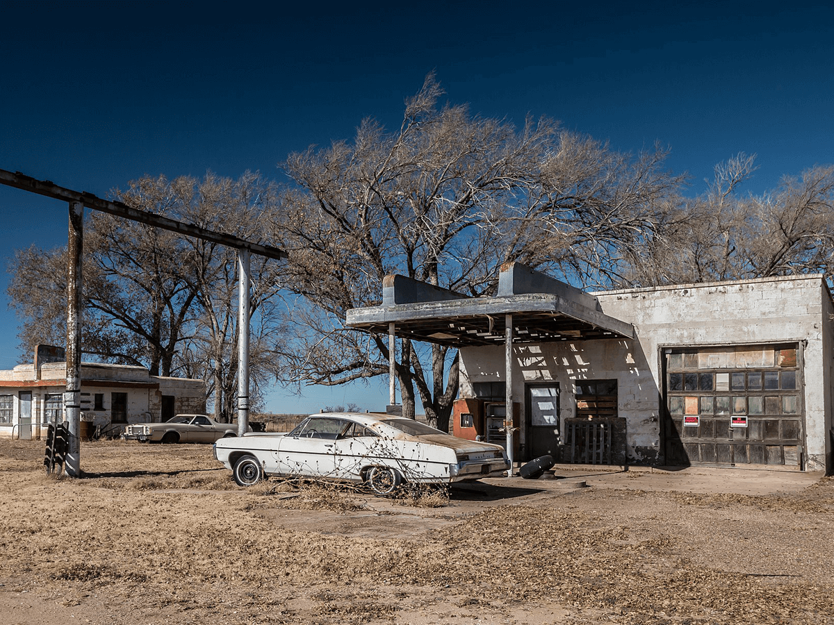 Glenrio, New Mexico and Texas