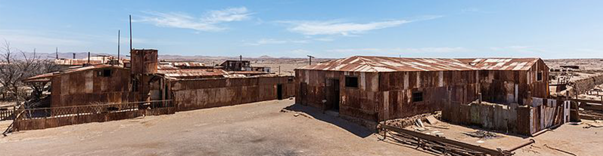 Humberstone and Santa Laura, Chile