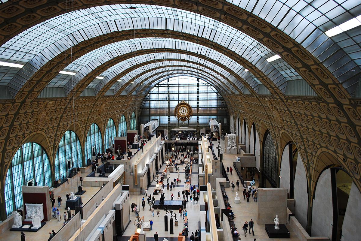 奥赛博物馆——从火车站改造成博物馆