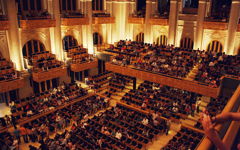 Sala São Paulo (Brasil), una sala de conciertos en una estación de ferrocarril