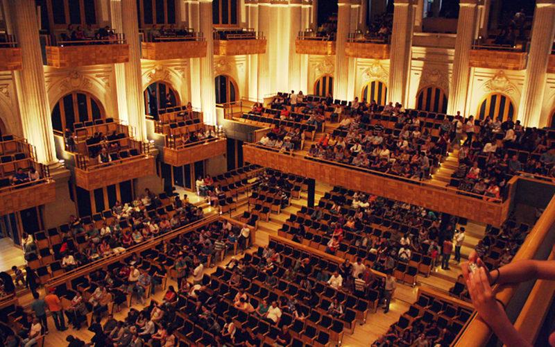 Sala São Paulo (Brésil), une salle de concert dans une gare