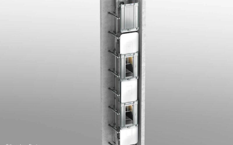Double Deck Elevator